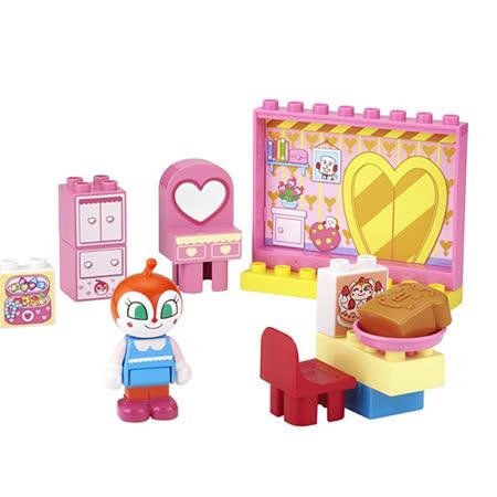 《 麵包超人 》ANP 小病毒積木玩具 13 PCS