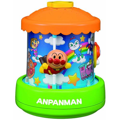 《 麵包超人 》ANP LED 旋轉木馬玩具