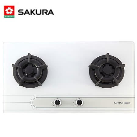 【櫻花】G-2522G 雙口玻璃檯面爐