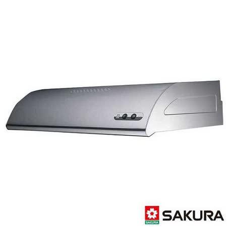 【櫻花】R-3012SXL 單層式不鏽鋼除油煙機 90CM