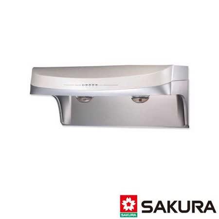 【櫻花】DR-3880SXL 流線型渦輪變頻除油煙機 90CM
