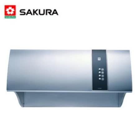 【櫻花】R-3550L 健康取向烤漆除油煙機 80CM