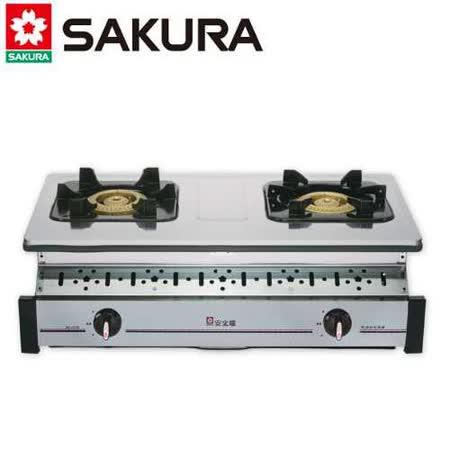 【櫻花】G-6320K 不鏽鋼傳統崁入爐