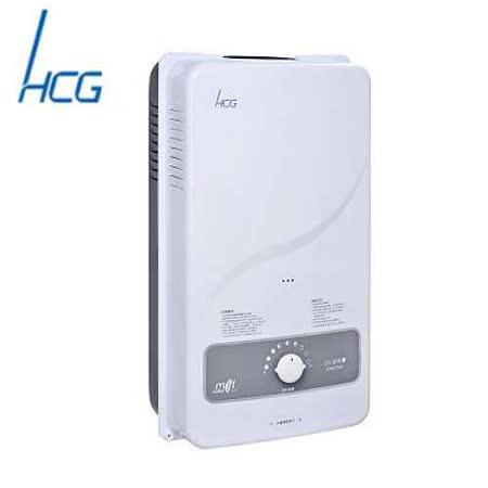 和成 GH570Q 屋外公寓型自然排氣機械恆溫熱水器 11L