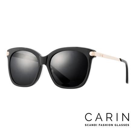 CARIN 韓國名星愛用經典款太陽眼鏡 Rénopolli-C1(黑)