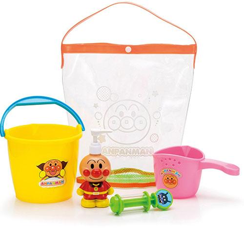 《 麵包超人 》ANP 洗澡用品玩具 5 件組