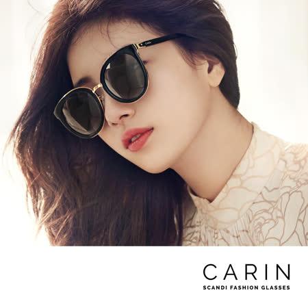 CARIN 韓國名星愛用經典款太陽眼鏡 Eliä-C1(黑)
