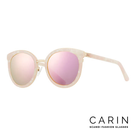 CARIN 韓國名星愛用經典款太陽眼鏡Eliä-C3-Pink mirror(粉紅)