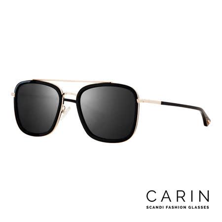 CARIN 韓國名星愛用經典款太陽眼鏡 METAL-C1(黑)