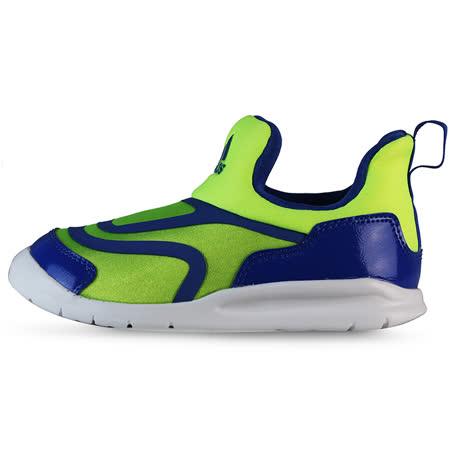 adidas 童 HY-MA C 愛迪達 慢跑鞋 藍/綠 -AQ5109