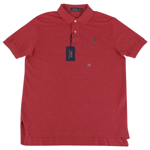 Ralph Lauren 經典戰馬短袖POLO衫(男/紅底小綠馬)