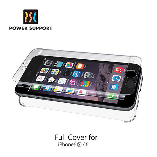 POWER SUPPORT iPhone6/6s Air jacket 超薄全包覆式庇護殼 透明