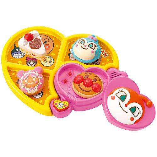 《 麵包超人 》ANP 心型餐盤玩具