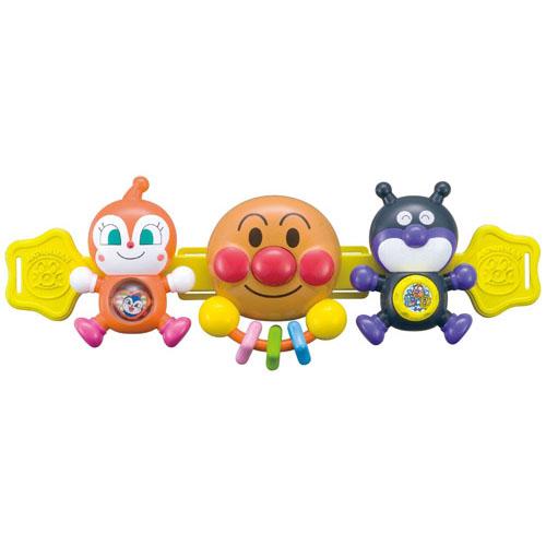 《 麵包超人 》ANP 嬰兒車用玩具