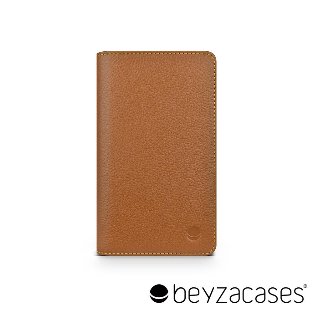 Beyzacases Brooks Traveller iPhone 6 專用旅人卡夾皮套 (經典淺褐)