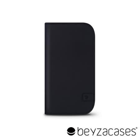 Beyzacases Natural Wallet iPhone 6 專用樸質雅緻皮夾護套 (洗鍊黑)