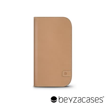 Beyzacases Natural Wallet iPhone 6 專用樸質雅緻皮夾護套 (駱駝淺棕)