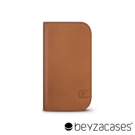 Beyzacases Natural Wallet iPhone 6 專用樸質雅緻皮夾護套 (經典褐)