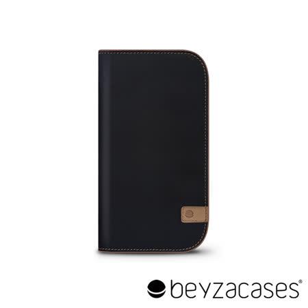 Beyzacases Natural Wallet iPhone 6 專用樸質雅緻皮夾護套 (雅痞黑褐)