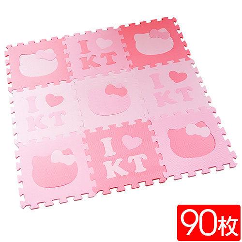 Peachy life<BR/>Hello Kitty巧拼/安全地墊