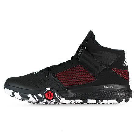 adidas 男 D ROSE 773 IV LUX 愛迪達 籃球鞋 黑/紅 -AQ8241
