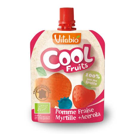 法國Babybio 有機優鮮果-蘋果、草莓、藍莓90g