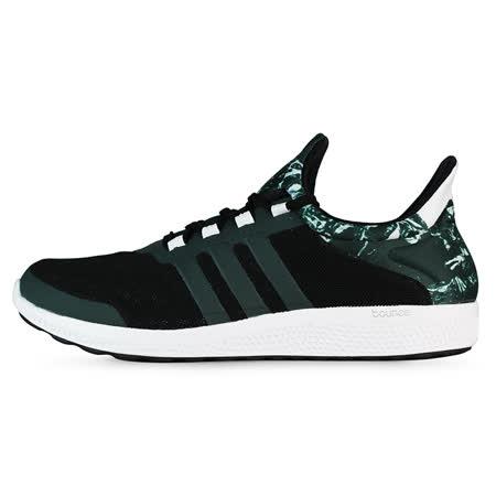 adidas 男 CC SONIC M 愛迪達 慢跑鞋 黑/綠 -S78245