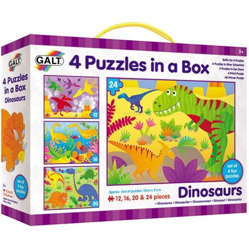 英國GALT 4in1進階拼圖~恐龍