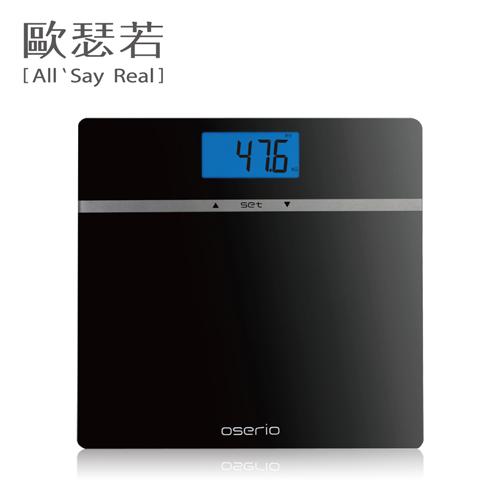 OSERIO-MES-210多功能BMI體重計(黑色)