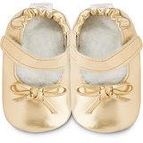 英國 shooshoos 安全無毒真皮手工鞋/學步鞋/嬰兒鞋_金色年代_102049 (公司貨)
