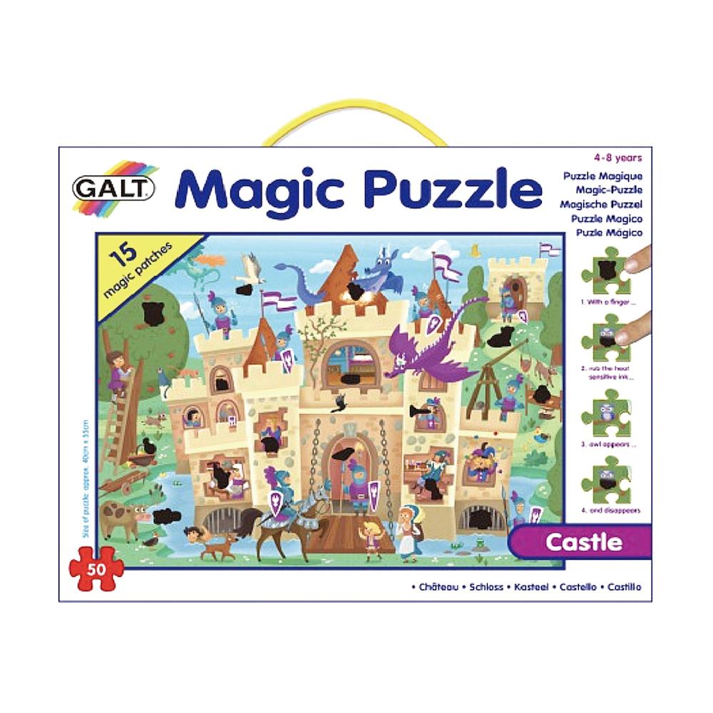 英國GALT 魔術拼圖~城堡