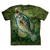 【摩達客】(預購) 美國進口The Mountain 太陽魚 純棉環保短袖T恤