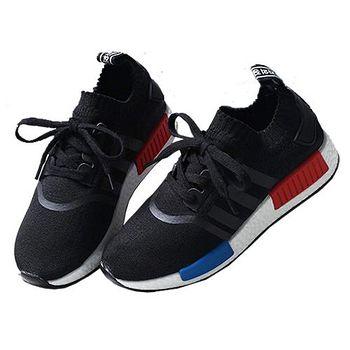 ALicE (預購)Y1193最新完美潮流款式運動休閒鞋 (黑)