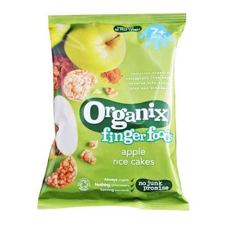 英國Organix 有機寶寶蘋果米餅50g
