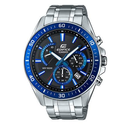 CASIO EDIFICE 高科技智慧藍圈時尚男用賽車腕錶-47mm/ EFR-552D-1A2 / 現貨