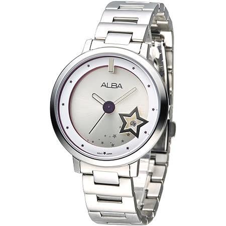 ALBA 公主星願甜美時尚女錶(AG8373X1)