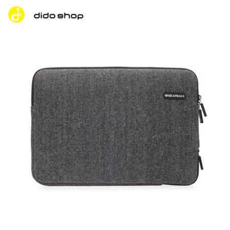 MacBook專用 15.4吋 英倫人字紋毛呢避震袋 筆電包 電腦包 (DH138)