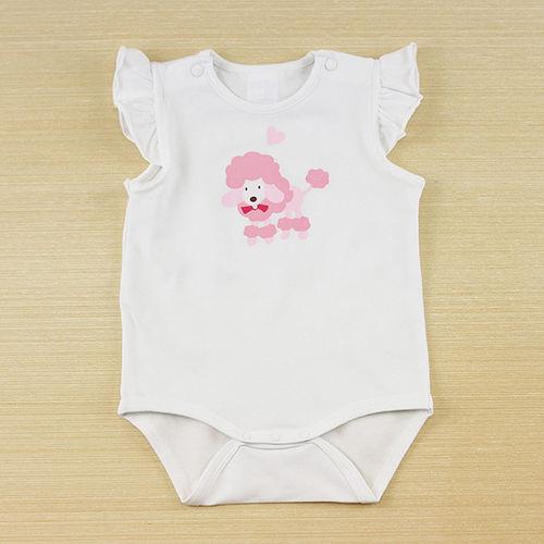 ~愛的世界~LOVEWORLD 海邊系列半袖印圖連身衣3個月~1歲~ 製~