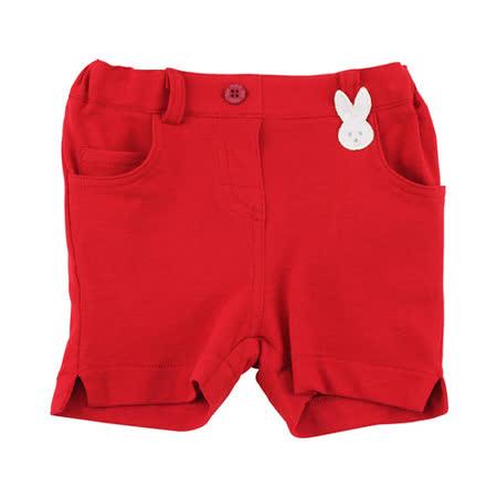 【愛的世界】pappa&ciccia 海灘小兔系列網眼休閒短褲/4~8歲-台灣製-