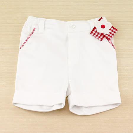 【愛的世界】pappa&ciccia 小兔公主系列女童氣質休閒短褲/2~6歲-台灣製-