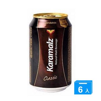 卡麥隆原味黑麥汁330ml*6罐