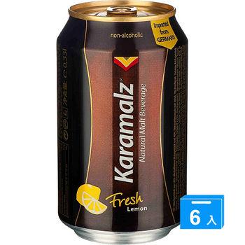 卡麥隆檸檬風味黑麥汁330ml*6罐