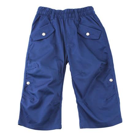 【愛的世界】LOVEWORLD 海鸚鵡系列工作休閒七分褲/2~4歲-台灣製-