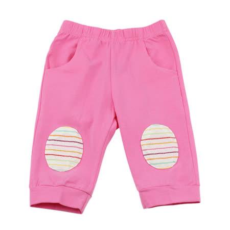【愛的世界】MYBABY 水果百匯系列彈性緊身七分褲/1~3歲-台灣製-