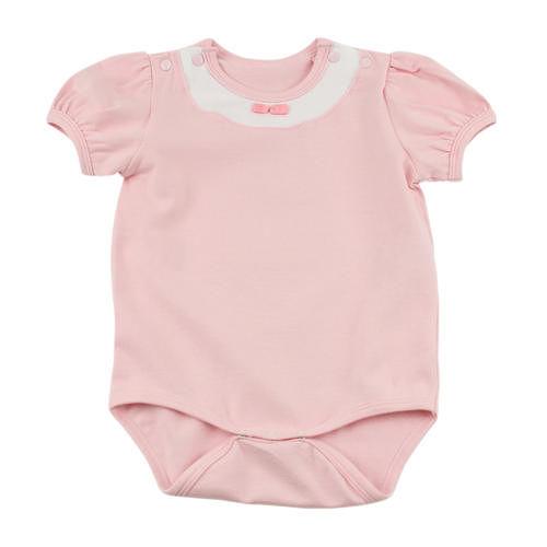 ~愛的世界~MYBABY 小蝴蝶系列公主袖圓領連身衣6個月~2歲~ 製~