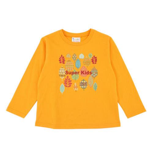 ~愛的世界~SUPERKIDS 森林裡的仙女系列純棉圓領薄長袖上衣6^~8歲~ 製~