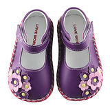 【愛的世界】LOVEWORLD 庭園寶寶鞋/學步鞋/13~15CM-台灣製-
