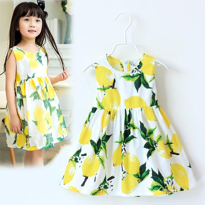 夏日《清新小柠檬》甜美气质小洋装【现货 预购】