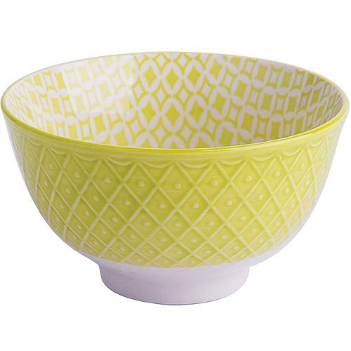 ~EXCELSA~Oriented瓷餐碗^(菱紋綠10.5cm^)