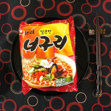 【農心】昆布海鮮風味麵 -辣味